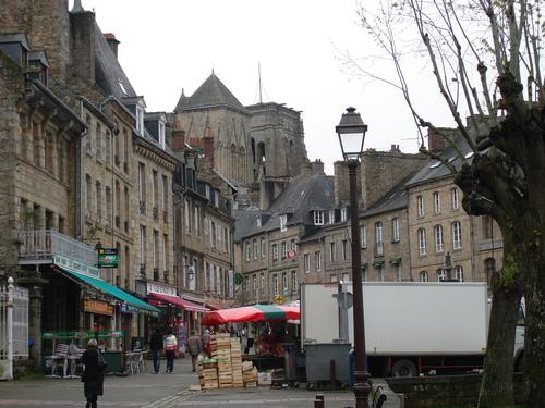La ville de Guingamp